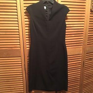 Talbots Black Sleeveless Dress